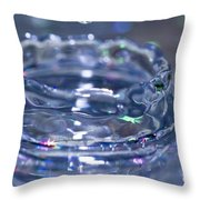 Waterdrop15 Throw Pillow