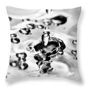 Waterdrop17 Throw Pillow