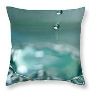 Waterdrop2 Throw Pillow