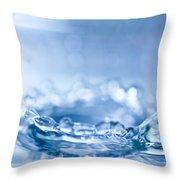 Waterdrop3 Throw Pillow