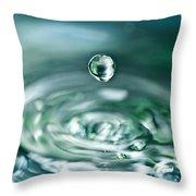 Waterdrop4 Throw Pillow