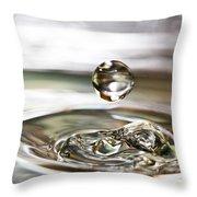 Waterdrop5 Throw Pillow