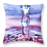 Waterdrop6 Throw Pillow