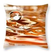Waterdrop8 Throw Pillow