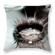 Waterdrop9 Throw Pillow