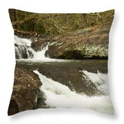 Waterfall 202 Throw Pillow