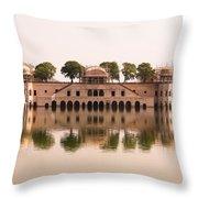 Waterfront Building, Jaipur, India Throw Pillow