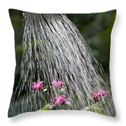 Watering Can Throw Pillow