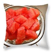 Watermelon Parfait 2 Throw Pillow