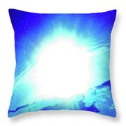 Waterspace Throw Pillow