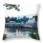 Waterworks View Throw Pillow