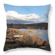 Watson Lake 2 Throw Pillow