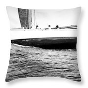 Wave Riders Throw Pillow