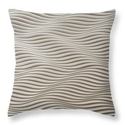Waves And Stripes Background Throw Pillow