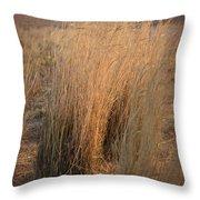 Waves Of Grass Throw Pillow