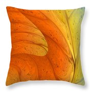 Waves Of Sanity Throw Pillow