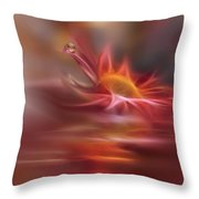 Waves Of Symphony... Throw Pillow