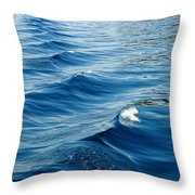 Waves On Tahoe Throw Pillow