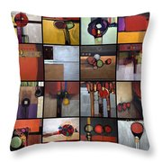 Wavin'  Buy Buy Throw Pillow