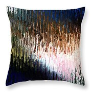wax on paper I Throw Pillow