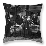 Way Down East, 1920 Throw Pillow