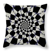 Way To Confusion Throw Pillow