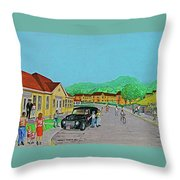 Wayne Hills 1948 Throw Pillow