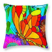 We Fly Throw Pillow