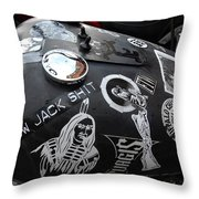 We Know Jack Throw Pillow