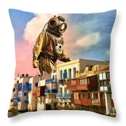We May Have A Problem Throw Pillow
