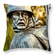 Weary For Hope Throw Pillow