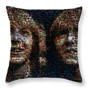 Weasley Twins Mosaic Throw Pillow