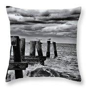 Weathering Throw Pillow