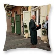 Wed 054 Throw Pillow