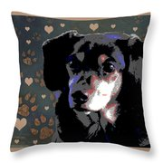 Wee With Love Throw Pillow