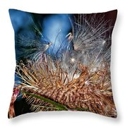 Weed Orgy Throw Pillow