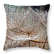 Weed Wandering Throw Pillow