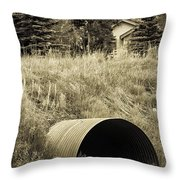 Weeds 2 Throw Pillow
