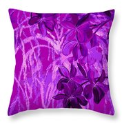 Weeping Exposed Throw Pillow