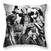 Weightlessness, 19th Century Throw Pillow