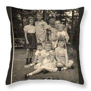Weiner Cousins C 1953 Throw Pillow