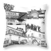 Welcome Home 10 Throw Pillow