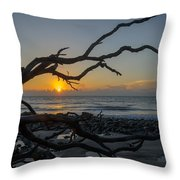 Welcome The Day Throw Pillow