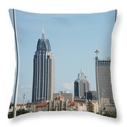 Welcome To Mobile Throw Pillow