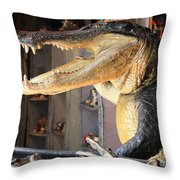 Welcome To New Orleans Throw Pillow