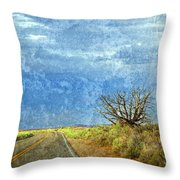 Welcome To The Magic Of Arches National Park  Throw Pillow