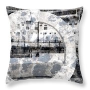Welcome To The Moon Throw Pillow