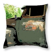 Weld County Customs Throw Pillow