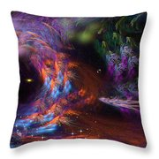 We'll Leave The Light On.... Throw Pillow