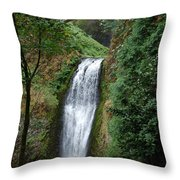Well Placed Waterfall Throw Pillow
